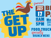 The GET UP flyer