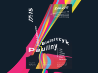 Poster for  Paulina Bielarczyk's Concert