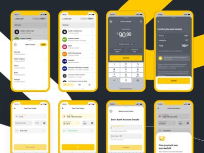 VIABUY Mobile Application: Load Card
