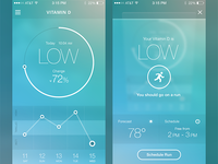 Health Mobile App Concept