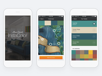 Dunn-Edwards: InstaColor Mobile App Color Matching Flow