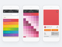 Dunn-Edwards: InstaColor Mobile App Color Exploration Flow