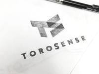 ToroSense Logo Sketch