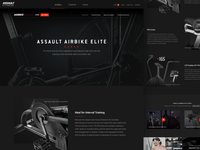 Full Assault AirBike Product Page