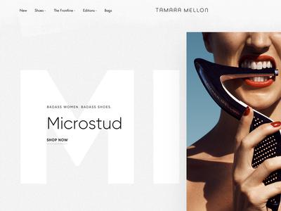 Tamara Mellon Homepage Exploration