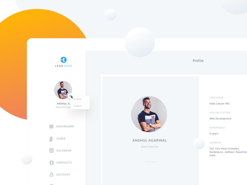 legodesk profilepage
