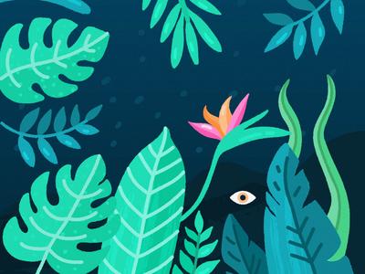 Tropical Background freepik jungle tropical