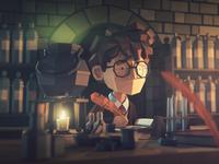 Potions hogwarts harrypotter lowpolyart lowpoly3d lowpoly cinema 4d illustration