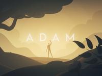 Adam character mograph lighting creation adam bible design nature animation cinema 4d illustration