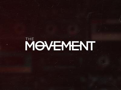 The Movement Logo design icon typogaphy logo branding