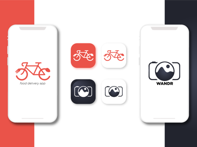 2 Projects for app icons app store design brand app logo graphic design app icon design app icon branding logo design