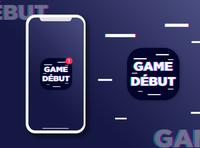 app Icon for game debut illustration design app logo graphic design brand app icon design app icon logo design branding