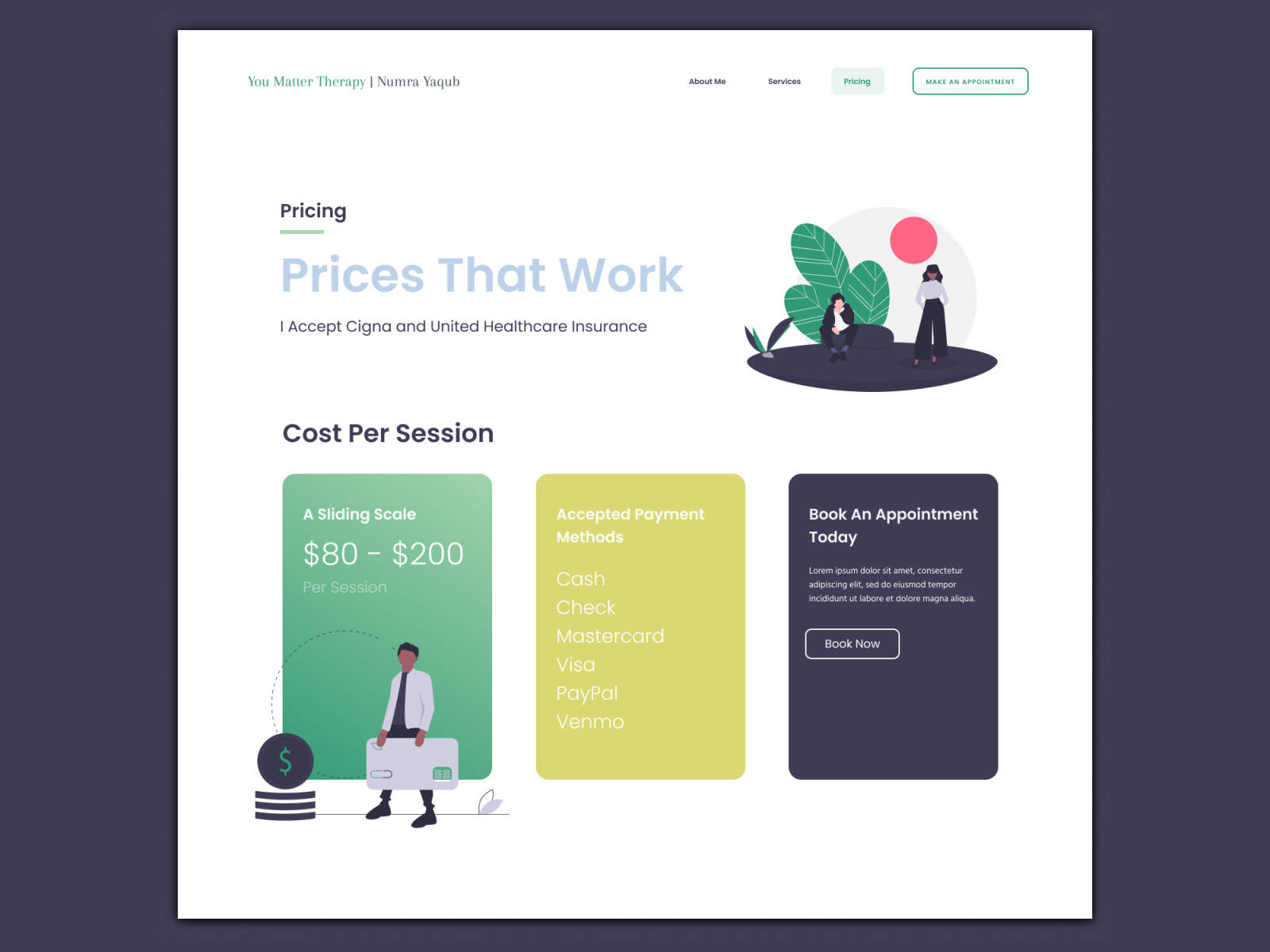 Pricing Page By Arjun Samir On Dribbble