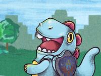 Volta As Aulas Banner Dinow for Nerd Universe