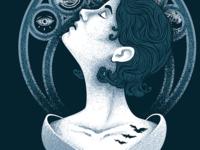 Divergent illustration for T-Shirt - Final Detail