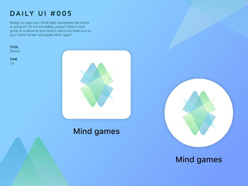 Icon App design ui design dailyui