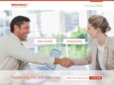 InterviewIC Landing Page
