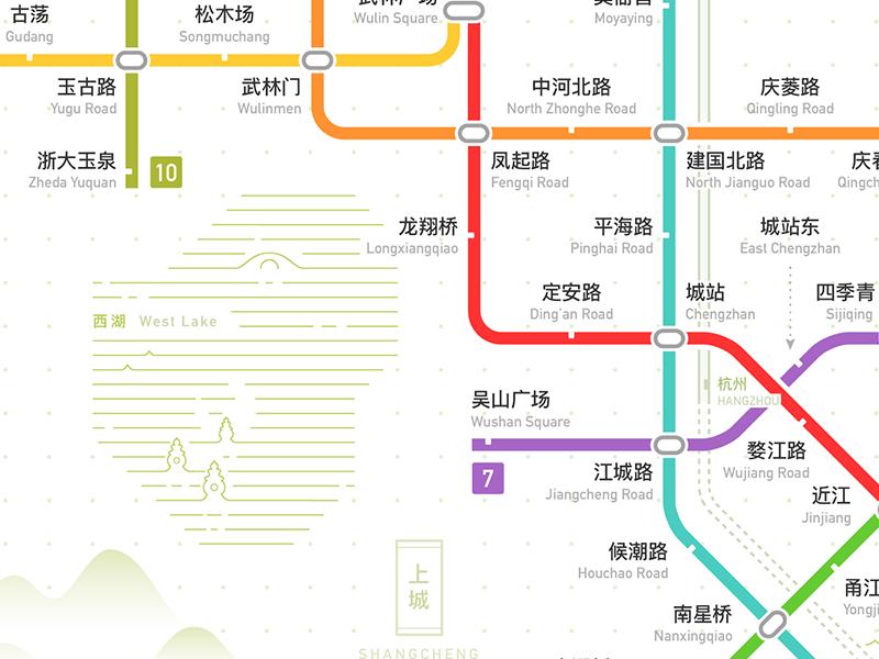 Hangzhou Subway Map.Hangzhou Rail Transit Metro Network Map 2022 By Lyt Dribbble