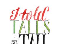 Tales as tall as cliffs