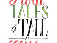 Tales As Tall As Cliffs