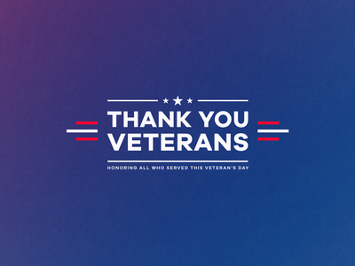 Veterans Day 2020 veterans day typogaphy graphic design social media