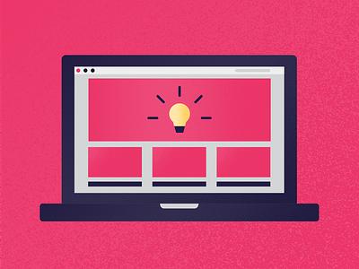Laptop Illustration laptop design illustration vector graphics