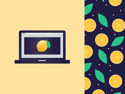 Lemon lemon illustration vector graphics