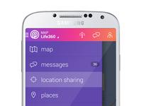 L360 android menu full