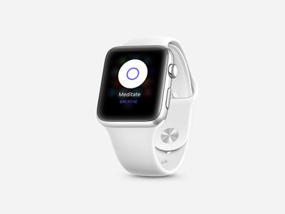 Breathe ⌚ meditate meditation mindfulness app apple watch watch