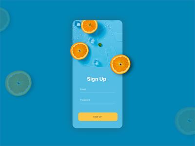 Sign Up ux ux design sketch ios app login sign in sign up