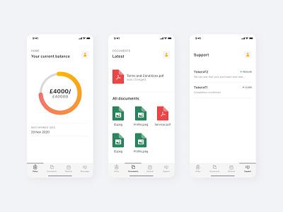Refundable insurance app ios app design ios app insurance app ios insurance