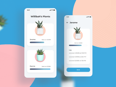 Care about your plants plant app
