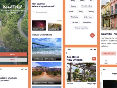 Travel app hotel america trip travel app ux design interface dribbble ios ux sketch ui