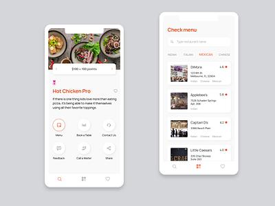 Restaurant app dribbble sketch ui design menu дизайн приложения interface app ux design ios restaurant restaurant app ui