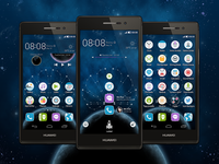 Theme for Huawei mobile phones.