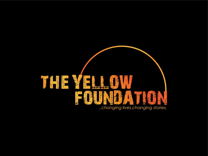 Logo Design For The Yellow Foundation foundations logos logo design graphics graphic design logo illustrator illustration graphic design