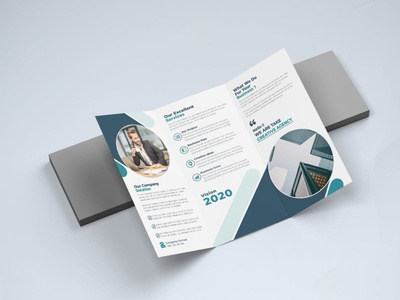 Trifold brochure design typography graphic design simple illustration corporate design minimalist design dribbble graphic designer graphic  design digital design print design razades brochure design ideas brochure design trifold mockup trifold brochure