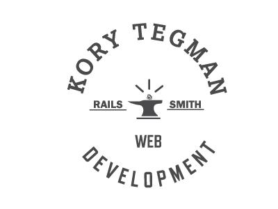 Kory Tegman Logo logo illustration design branding