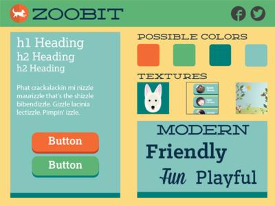 Zoobit Style Tile style tile web design visual design