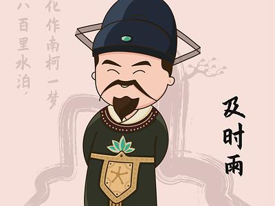 Q萌水浒 illustration design