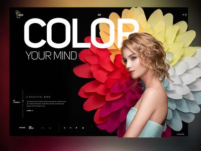color your mind landingpage
