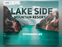 Lakeside Mountain View - Landing Page