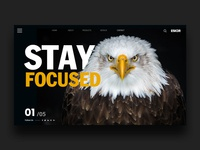 Stay Focused Landing Page