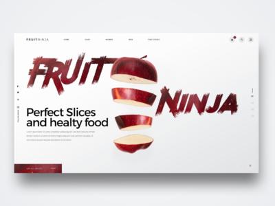 Fruitninja Landingpage
