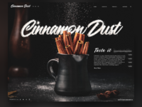 Cinnamon Dust - Websitedesign
