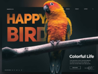 Happy Bird Landing Page