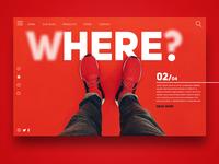 Where ? Here. - Landingpage