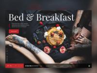 Bed & Breakfast Landingpage