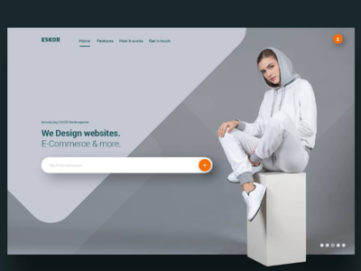 Webdesign Agency Landing Page