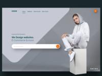 Webdesign Agency Landing Page